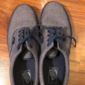 d3b32adfbe Vans Shoes - NWOT Men s Vans Era (Mono Chambray) Navy Navy